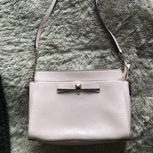 Kate Spade Light Pink Crossbody Bag Patent Leather